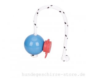 Top-Matic Set Blauer Fun-Ball SOFT mit rotem Magnet Clip