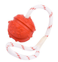 Dog Ball Aromatized for Dental Care | Dog Toy for Pulling, 7 cm