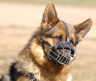 Wire Basket Dog Muzzle for German Shepherd