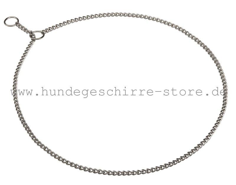 Dünnes Hundehalsband aus Stahl-Gliedern, bequem und solid - €9.4