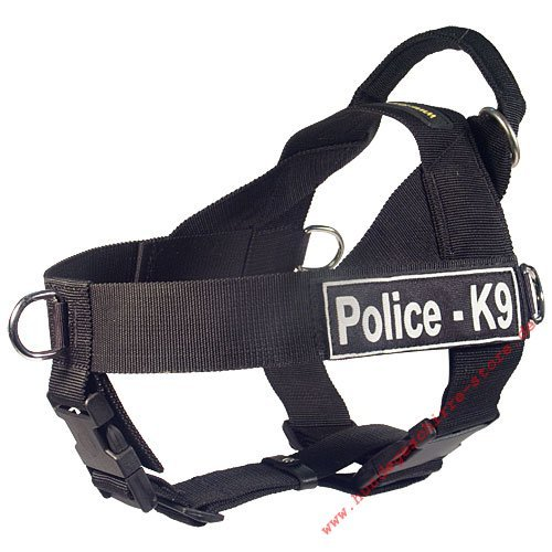 police and military dog harness