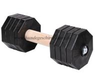 Hantel aus Holz für Apportieren Training