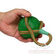 Hundespielzeug aus Schaumgummi für Hundesport mit Seil