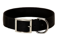Extra wide nylon dog collar, perfect quality!