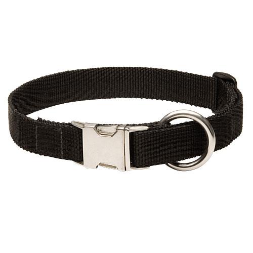 Nylonhalsband mit Metallstechverschluss für Hundetraining