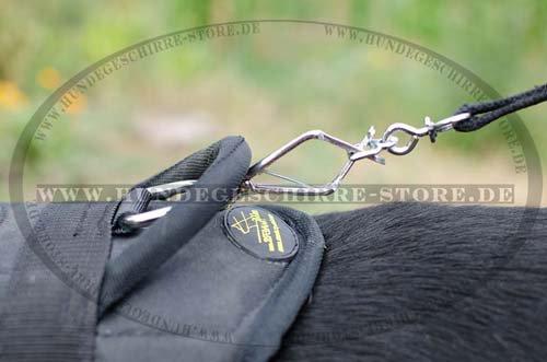 Nylon Hundeleine mit Stahl Karabinerhaken von Herm Sprenger